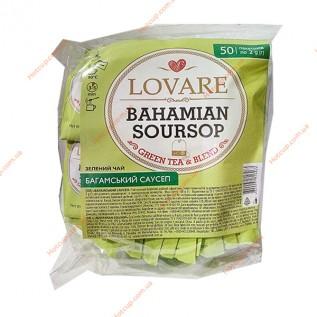 Чай пакетированный Lovare Багамский саусеп 50п\к