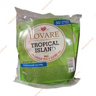 Чай пакетированный Lovare Тропический остров 50п\к